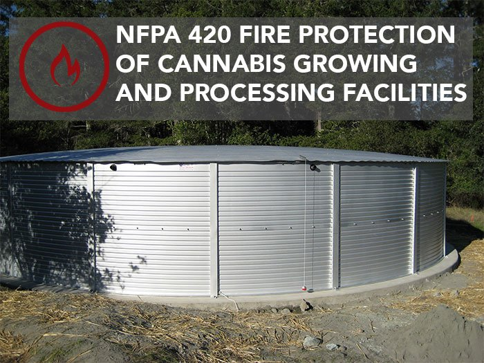 NFPA 420 Fire Protection of Cannabis Growing and Processing Facilities